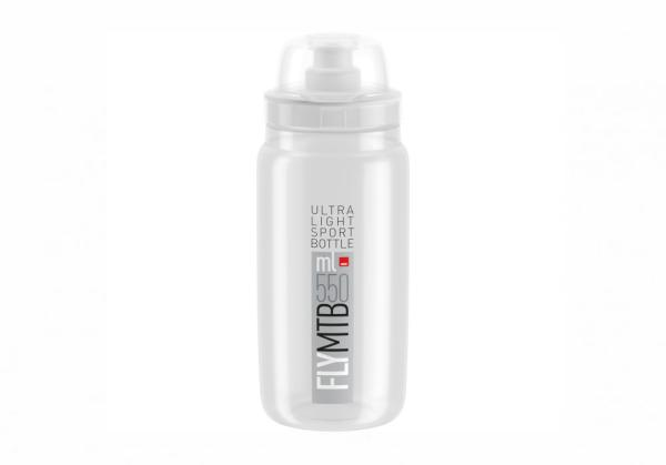 Elite® Fly MTB 2020 bottle (0,55l) clear gray.