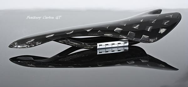 Feathery Carbon Saddle GT - 12K Design.