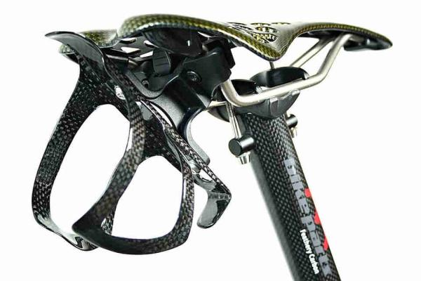 Saddle Bicycle Bottle Cage - Seat Adaptor clamp removeable.