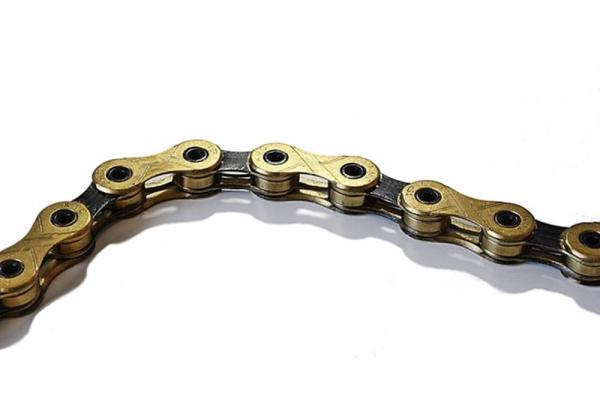 KMC X11-EL bicycle chain gold - 11 speed chain for Campa, Sram, Shimano. - Kopie