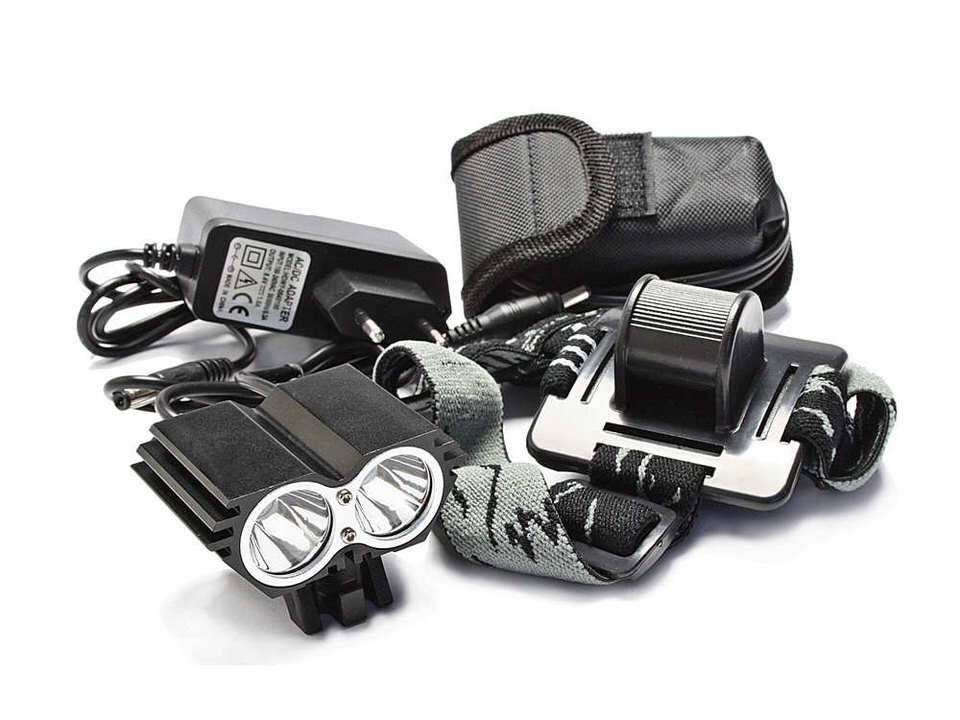 titan carbon fahrradteile fahrrad led lampe ebl 302 a von eastpower mit 210 lux. Black Bedroom Furniture Sets. Home Design Ideas