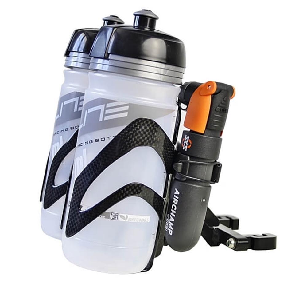 Feathery Carbon Flaschenhalter FC231 von m-bikeparts 22g für BMW.