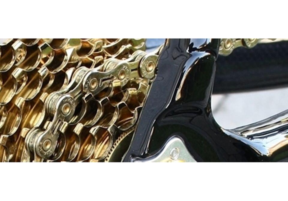 Details Zu Kmc X11el Gold Fahrrad Kette 11 Fach Für Campagnolo Sram Shimano