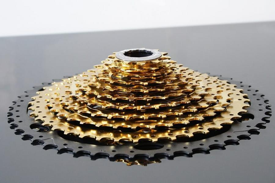 11-46 Cassette for Shimano, Sram 11Speed - m-bikeparts gold eagle.
