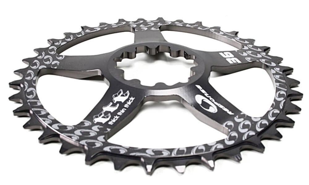 36 Chainring for Sram GXP, X-SYNC Direct Mount Thick Thin Teeth.