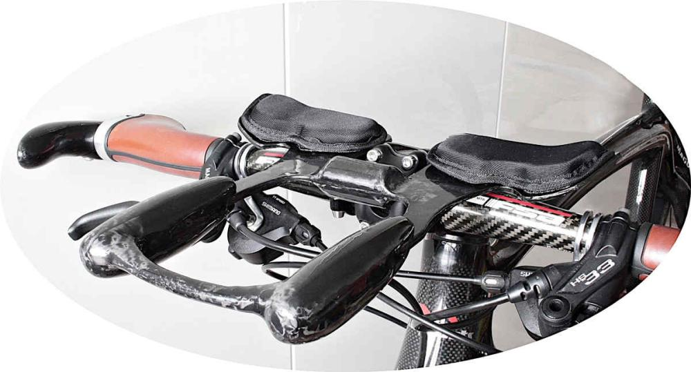 Triathlon AeroBar - Handlebar attachment Feathery Carbon.