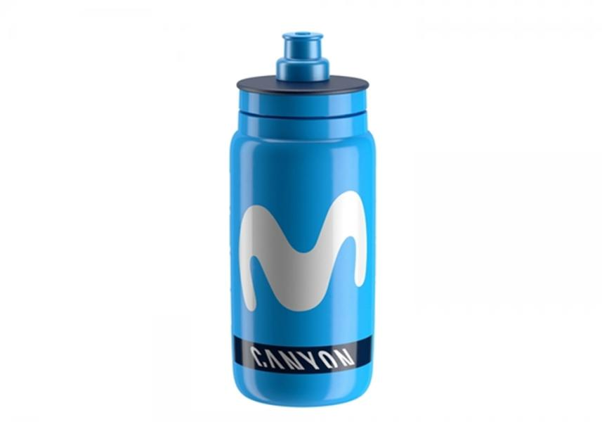 Elite® Fly Movistar 2018 Trinkflasche (0,55l).