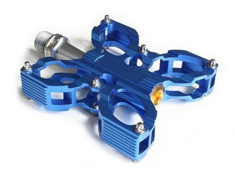 MTB Foot Pedals BMX - Mountainbike Pedal blue.