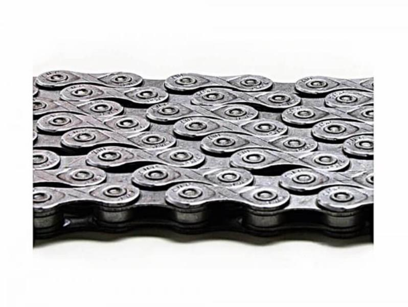 KMC X-1073 bicycle chain for Shimano, Sram, Campagnolo silver.