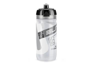 Elite® Corsa Trinkflasche (0,55l) clear gray.