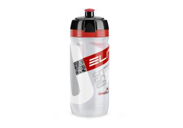 Elite® Corsa Trink bottle (0,55l) clear red.