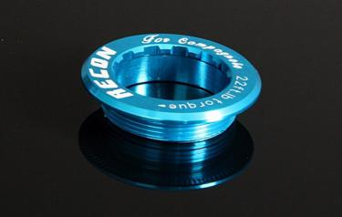 Cassette Lock Ring, - 38mm for Campagnolo blue.