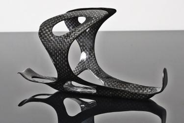 Bike Drink Bottle Cage - Feathery Carbon FC121 28g.