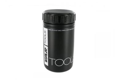 VAR tool box / storage bottle 550 ml in black.